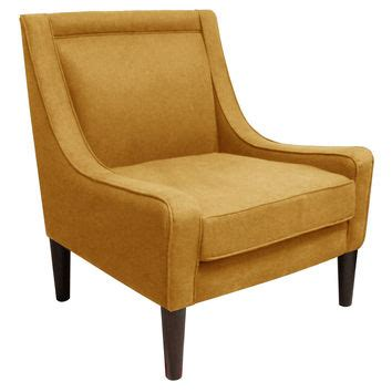 Yellow Swoop Arm Accent Chair by Best Yellow Accent Chairs Products On Wanelo