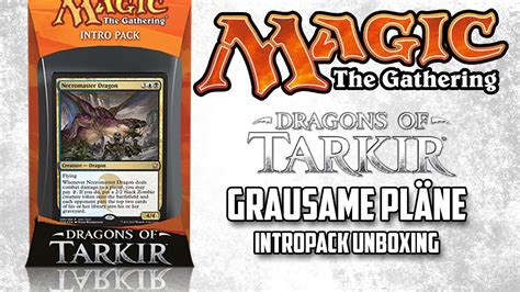 Grausame Pläne  Magic The Gathering Drachen Von Tarkir
