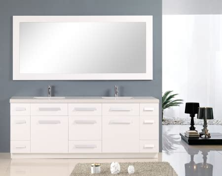 double sink bathroom vanity  quartz top