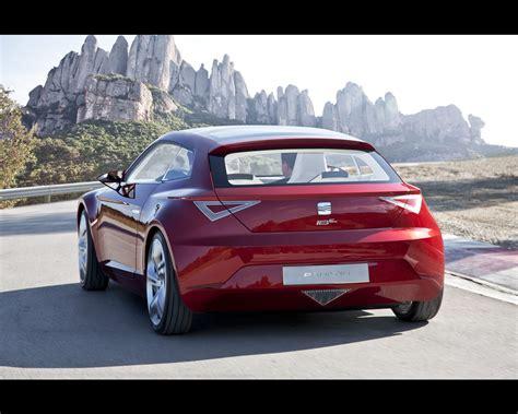 Seat Ibe Concept Paris 2018 Sports Coup Zero Emissions