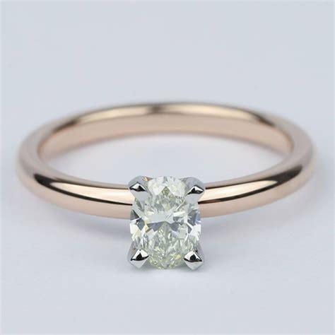comfort fit oval diamond engagement ring  carat