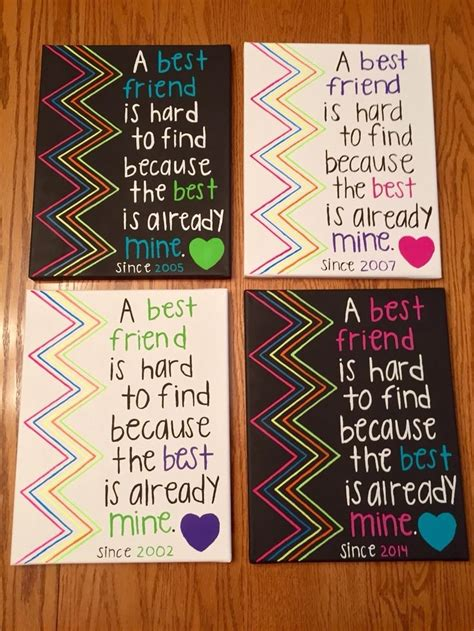 Diy Birthday Gifts For Best Friend Donttouchthespikescom
