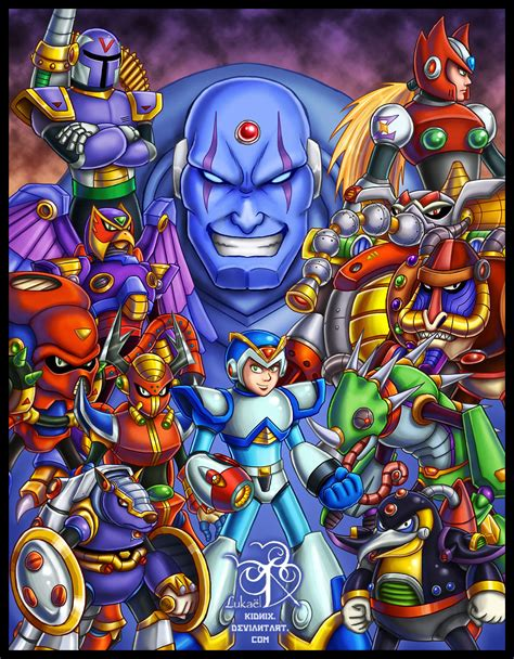 Megaman X Tribute By Lukael Art On Deviantart