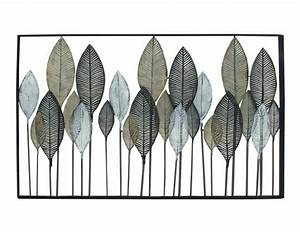 Steinhafels metal leaves wall decor