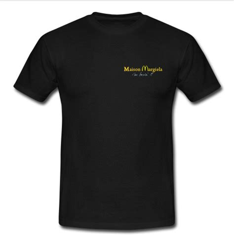 la maison du tshirt maison margiela t shirt