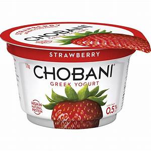 Chobani No Fat Strawberry Yoghurt 170g | Woolworths