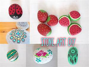 Stone Art DIYS - Including Game Design - YouTube