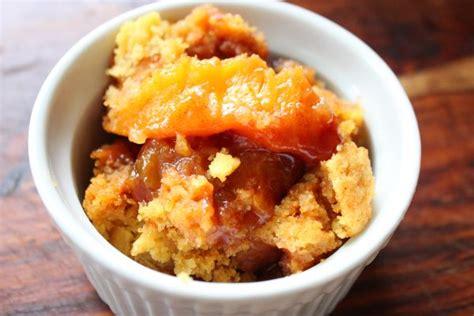 crock pot peach cobbler recipe heidis home