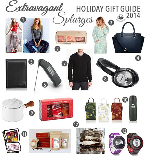 extravagant christmas gifts extravagant splurges gift guide 2014 pretty neat living