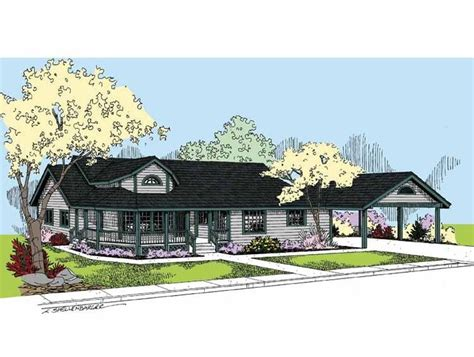 country house plan with 2131 square and 3 bedrooms