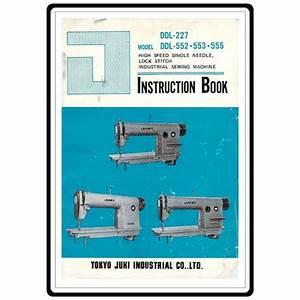 Juki Ddl-555 Repair Manual