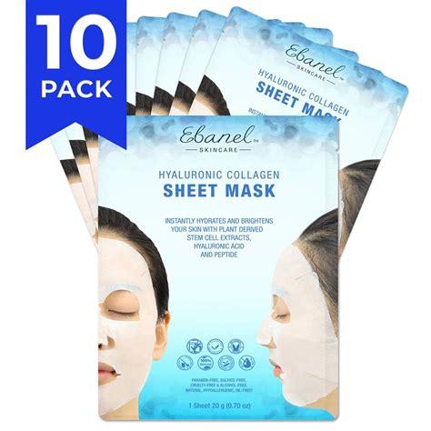 Amazon.com : MyM Advanced Collagen Peptide Silk Mask