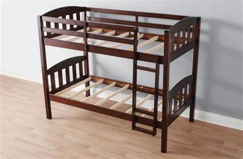 Mainstays Wood Bunk Bed by Mainstays Wood Bunk Bed Espresso Walmart Ca