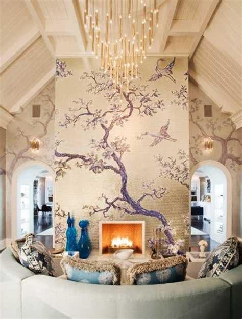 24 modern interior decorating ideas incorporating tree wall
