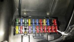 Ford Fiesta Mk5 Interior Light Fuse