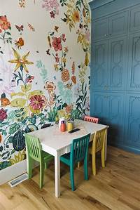 great kids bedroom mural Great Meadow Mural by Anthropologie | Children room and playroom decor | Playroom mural ...