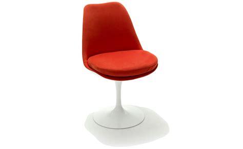 saarinen tulip side chair fully upholstered hivemodern