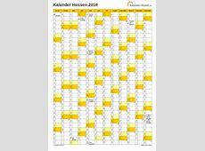 Feiertage 2018 Hessen + Kalender