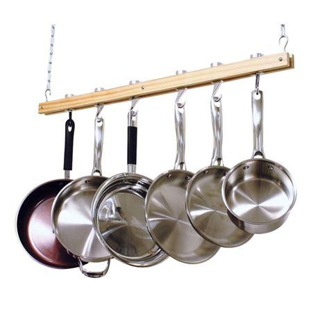Ceiling Mount Hanging Pot Pan Rack Organizer Storage