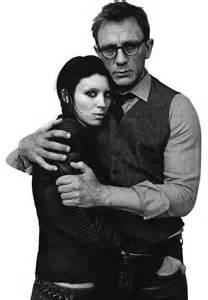 Rooney Mara & Daniel Craig by Jean-Baptiste Mondino | Dragon tattoo rooney mara, Rooney mara