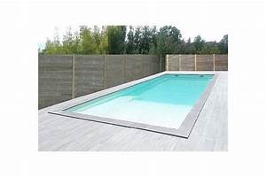 souvent piscine rectangulaire avec plage immergee sn81 With piscine avec plage immergee