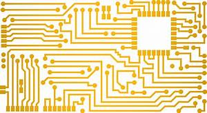 Electrical Vector Circuit Board