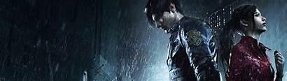 Dual Resident Evil Screen Wallpapers Remake Nemesis