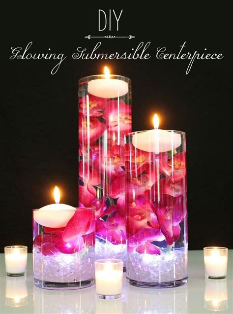 easy floating candle centrepieces ideas floating candles