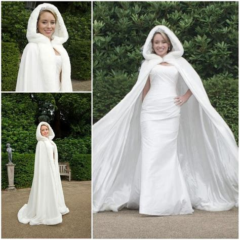 Wholesale Hot Bridal Cape Ivory Stunning Winter Wedding