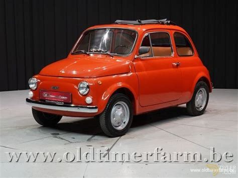 Fiat 500 Sale by Classic 1974 Fiat 500 R For Sale 9530 Dyler