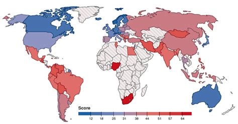 World's most stressed countries – ranked