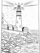 Lighthouse Coloring Pages Beach Printable Light Drawings Below Adult Burning Wood Patterns Colouring Easy Sheets Gaddynippercrayons Mandala sketch template