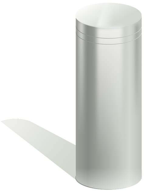 Cylinder Metal · Free vector graphic on Pixabay
