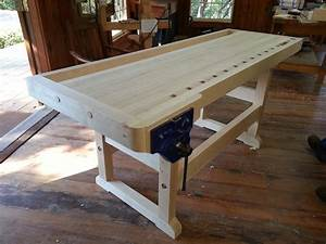 classic woodworking bench plans woodproject