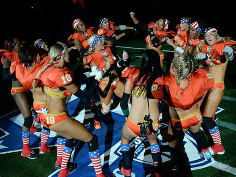 Women's Legends Football League Says WE STAND Over Anthem ...