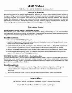 Resume writing tips marketing