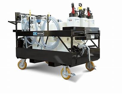 Lubrication Cart Precision Mobile Utility