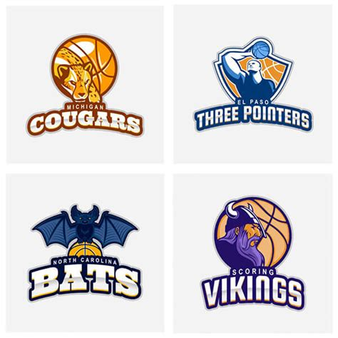 easiest basketball logo maker youll find placeit blog
