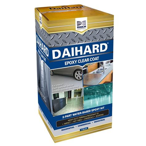 Daich Daihard 1 Qt Epoxy Coating Clear Gloss Kitdcecc