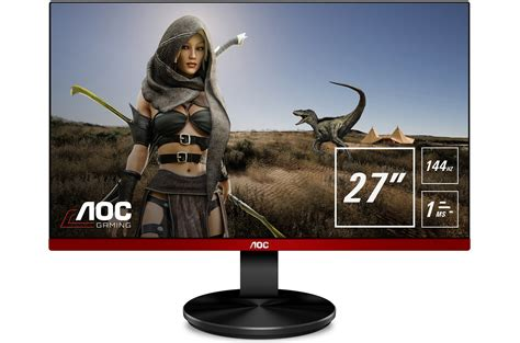 cheap 75 144hz freesync aoc unveils g90 gaming monitors from 179