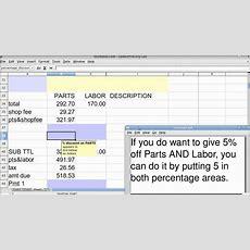 Spreadsheet Basics (vlookup Invoice Using Openoffice Calc) Youtube