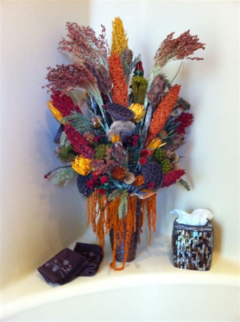 Dried Flower Arrangements In Vases by Dried Floral Arrangements Home Decor