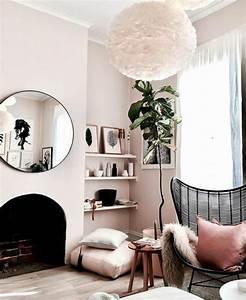 Quelle Couleur Associer Au Jaune Pale : 1001 id es pour une chambre rose poudr les int rieurs 2018 ~ Melissatoandfro.com Idées de Décoration