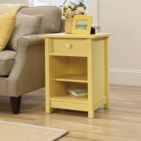 sauder kitchen furniture sauder original cottage 1 drawer side table walmart