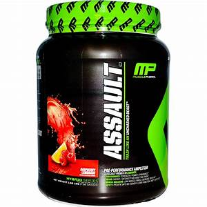 Personal Pre-workout Review Of Musclepharm Assault