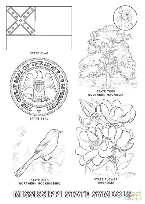 California State Symbols Coloring Pages California State Symbols Coloring Pages At Getcolorings