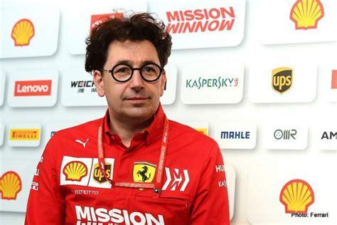 Mattia binotto is the current ferrari team principal, ex ferrari chief technical officer, and wearer of wonderful glasses. Binotto: I think we made a mistake | GRAND PRIX 247