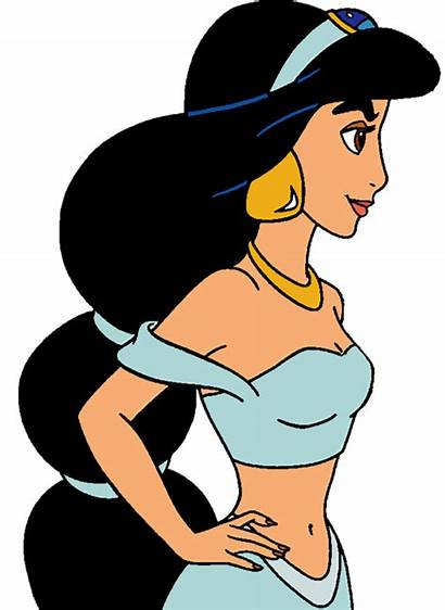 Jasmine Clipart Clip Disney Princess Fanpop Side
