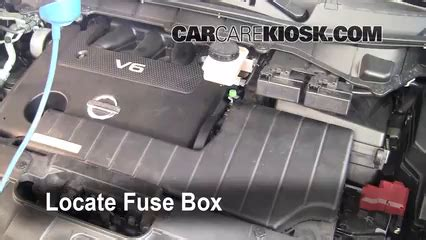 electric power steering 2011 nissan quest head up display interior fuse box location 2011 2017 nissan quest 2011