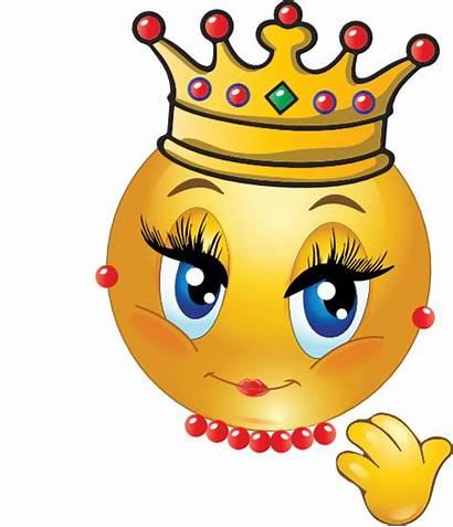 Smiley Queen Emoticon Emoji Clipart Faces Emoticons